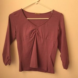 Lilac 3/4 Sleeve Blouse